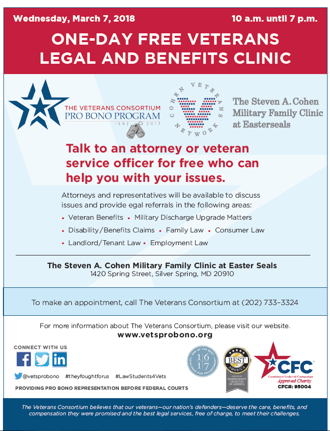 veteran legal clinic
