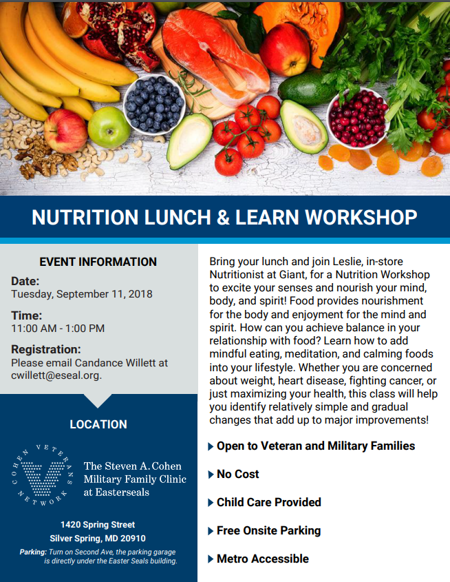 nutrition lunch and learn