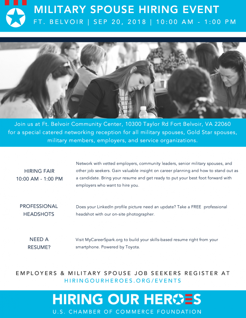 10 Special Needs Organizations You >> Military Spouse Hiring Event Sept 20