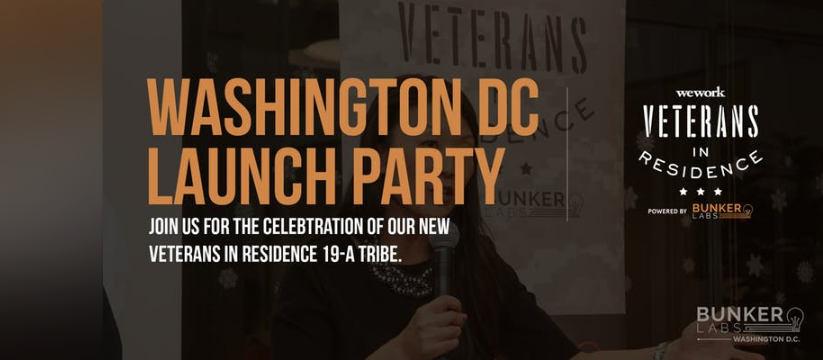 We Work Veterans in Residence Launch Party - :