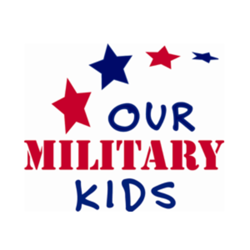 Our Military Kids logo